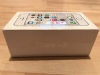 iPhone 5s / 16Gb / White / Vodafone locked / Brand New & Sealed