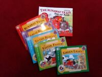 """LITTLE RED TRAIN"" JUNIOR READER BOOK SELECTION (L),LIKE NEW, VGC, 6 BOOKS"