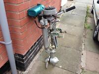 Seagull silver century long shaft clutch drive outboard motor good working order