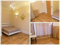 Lovely bright double room for single use in cosy 5bed flat, zone1