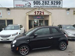 2012 Fiat 500 Sport, Leather, Alloys, WE APPROVE ALL CREDIT