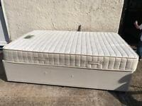 Small double bed memory foam mattress
