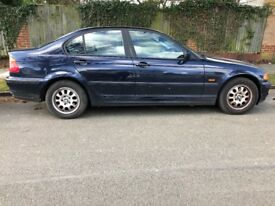 2000 BMW 316i (1895cc Petrol Manual) £400 OBO - MOT until Dec 18 - 2 owners - good working condition