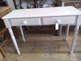 CLOSING DOWN SALE - Painted Console or Dressing Table.