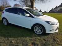 2013 '63' FORD FOCUS 1.6 TDCi ZETEC (ENHANCEMENT PACK) GENUINE 57K FFSH MOT OCT 18 £20 YEAR TAX