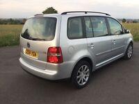 Volkswagen Touran 2.0 GTTDI, 12 Months MOT full service History £1700