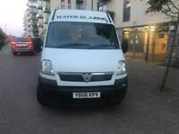 Vauxhall movano high top MWB van