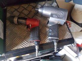 air drill and air impact gun