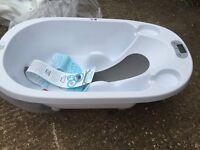 Digital baby bath