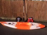 Bluewave sit on kayak