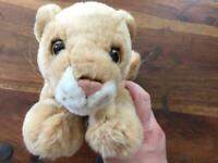 Lion cub soft toy