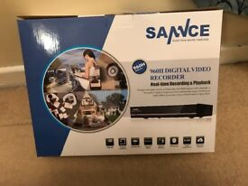 Sannce cctv camera with recorder drive
