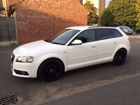 Audi A3 SLine Good Condition, very reliable, extras include satelite navigation, roof rails