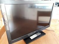 31 inch Luxor tv/dvd player.
