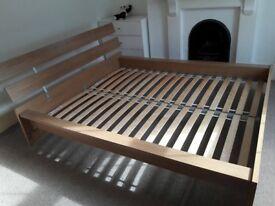 BED FRAME EURO KING WOOD IKEA