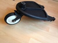 Bugaboo buggy board with Buffalo adapters