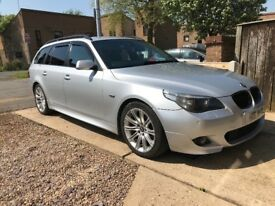 E61 BMW 530d M sport tourer *manual*
