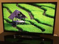 "JVC 40"" FHD 1080p Digital Freeview LED TV - 4 HDMI - 50Hz - USB Media - SRS Sound - Bargain RRP £439"