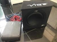 Vibe slick sub and amp