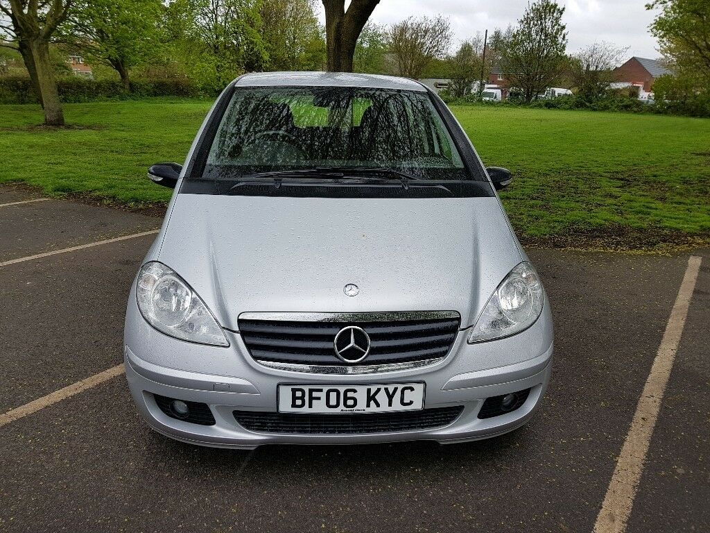 Mercedes Benz A Class 1.5 A150 Classic 5Dr Silver, Clean Good Runner