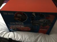 Disney Cars Wooden Toy Box