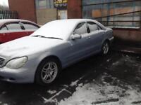 Mercedes s280 spares or repair