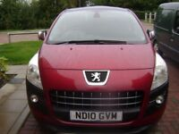 Red Peugeot 3008 Exclusive Diesel Semi-automatic with massive specification.