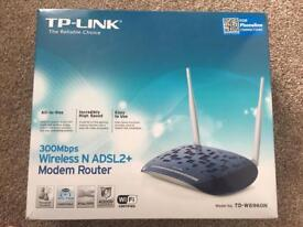 TP-Link 300 Mbps Wireless modem router