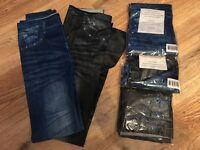 Jeggings. Jeans imitation leggings. 2 pack. Navy & Black