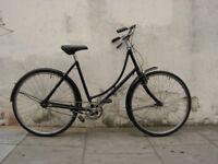 Vintage Pashley Ladies Town/ Dutchie/ Commuter bike, Black, 3 Speed, JUST SERVICED/CHEAP PRICE!!!!!!