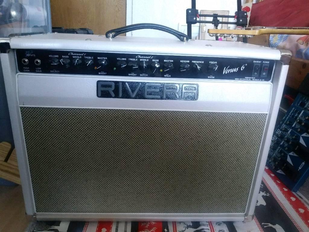 Rivera Venus 6. 2 channel class a valve guitar amp