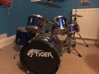 Tiger Junior 5 drumkit