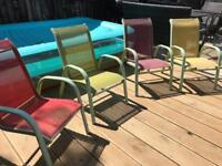 Kids garden chairs