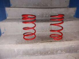 Saxo vts/vts 106 gti springs -40 or 60