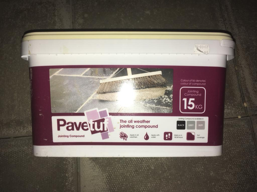 Pavetuf pavement patio jointing compound Cement - 5 units