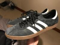 Adidas Tobacco Trainers