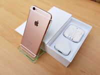 CUSTOM Apple iPhone 6 16GB ROSE GOLD (Unlocked) GREATE CONDITION MUST SEE!