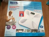 Tanita body monitoring scales
