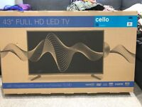 43 inch TV /DVD Combi New in box