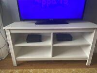PRICE DROP WHITE TV UNIT