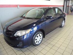 2013 Toyota Corolla A/C ET PORTES ÉLECTRIQUES PNEUS D'HIVER INCL