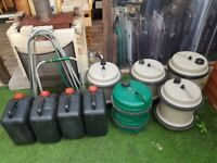 AQUAROLL and other fresh water containers.