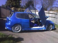Honda civic unfinished project for sale highly modified