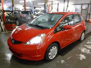 2013 Honda Fit LX 64 800KM PNEUS D'HIVERS REGULATEUR DE VITESSE