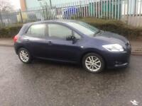 2009 TOYOTA AURIS 2.0 D4D FULL HISTORY ONLY ONE FRMR KEEPER £2695!