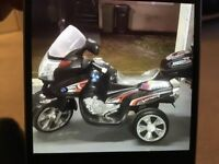 Child's Ride On Battery Operated Motorbike