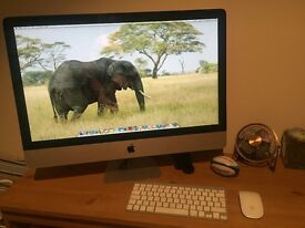 "iMac 27 inch 2.7GHZ 8GB Ram ""The Beast!"""