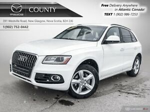 2016 Audi Q5 $104/WK TAX IN! AWD! NEW TIRES! LEATHER! $104/WK T