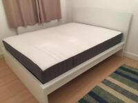 Practically new ikea bed and mattress