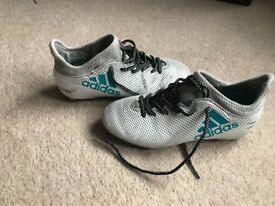 Adidas techfit boots size 2